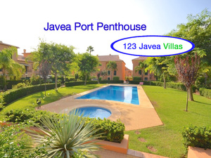 New Penthouse for sale in Javea Port