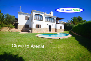 Arenal Javea Villa for Sale