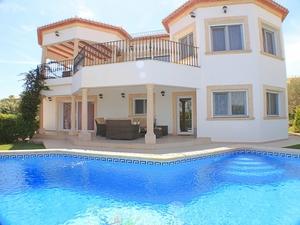 Luxury villas in Javea with sea view