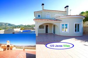 Private villa with pool for sale in Gata de Gorgos