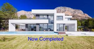 New Build Construction Villa Javea Montgo.