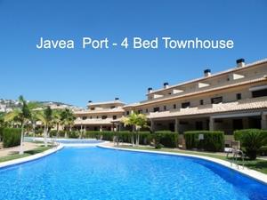 4 bedroom Townhouse to rent in Javea