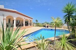 Villa on one level for sale in Javea