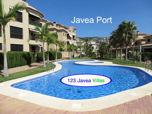 Javea Port Luxury 3 bedroom Apartment for sale