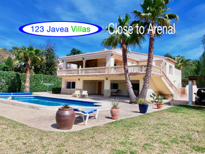 5 Bedroom villa close to the Arenal Javea