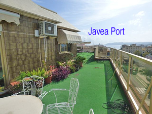 For sale Penthouse apartment in javea port with sea view