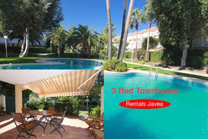 3 bedroom Townhouse to rent in Javea