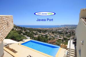 Villa for sale in Monte Puchol Javea with sea views