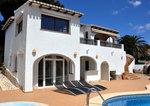 Moraira sea view property for sale