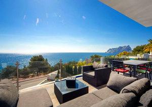 Moraira Modern Sea Front 4 Bedroom Property for Sale