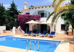 Moraira 3 bedroom villa for sale El Portet Valley