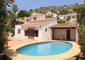 Javea Sea View Villa for Sale Puchol