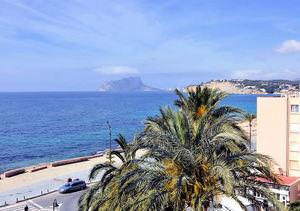 Moraira sea front apartment for sale
