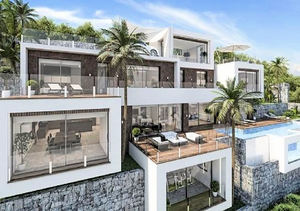 Luxury New Modern Property in Benissa with Sea Views