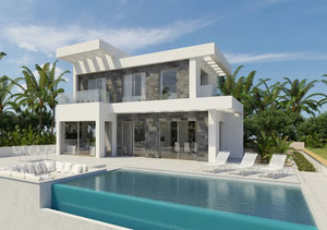 Javea New Villa for Sale with Sea Views
